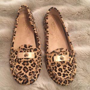 d40a3412f8b Vionic Shoes - Vionic Leopard Print Loafers Size 11